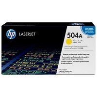 HP LaserJet 504A Yellow Print Cartridge with ColorSphere Toner (CE252A)