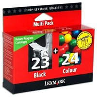 Lexmark No.23 and No.24 Original Ink Multipack (18C1419E)