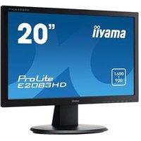 iiyama E2083HD-B1 19.5 LED VGA DVI-D Monitor