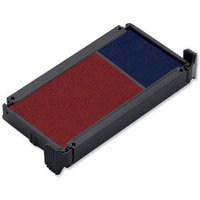 Trodat Replacement Ink Pad Red and Blue Pack of 2