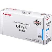 Canon C-EXV8 (7628A002) Cyan Original Laser Toner Cartridge