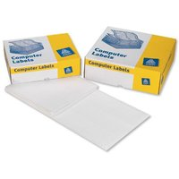 Avery 5631/1 Dot Matrix Printer Labels (89 x 48mm) 114mm Wide White (Pack of 10000 Labels)