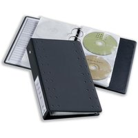 Durable CD Wallets with Internal Protective Lining for 2 CDs - 1 x Pack of 5 Wallets