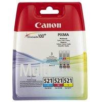 Canon CLI-521 C/M/Y Multipack Original Ink Cartridge