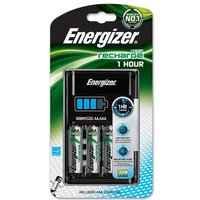 Energizer 1 Hour Battery Charger + 4 x AA 2300mAh Rechargeable Batteries