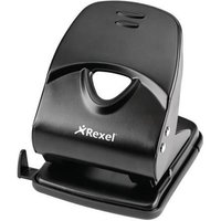 Rexel Value 2 Hole 40 Sheet Metal Punch (Black)