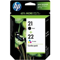 HP 21/22 (SD367AE) Original Multipack Ink Cartridges
