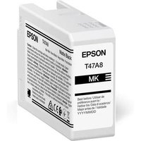 Epson T47A8 (T47A800) Matte Black Original UltraChrome Ink Cartridge (50ml)