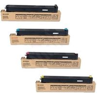 Original Multipack Sharp MX-3100N Printer Toner Cartridges (4 Pack) -MX-31GTBA