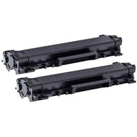 Compatible Multipack Brother HL-L2370DW XL Printer Toner Cartridges (2 Pack) -TN2410