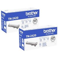 Original Multipack Brother HL-L2370DW Printer Toner Cartridges (2 Pack) -TN2420