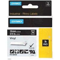 Dymo 1805436 Original Label Tape (19mmx5.5m) White On Black