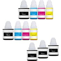 Compatible Multipack Canon Pixma G4411 All-in-One Printer Ink Cartridges (11 Pack) -