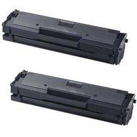 'Compatible Multipack Samsung Xpress Sl-m2022w Printer Toner Cartridges (2 Pack) -mlt-d111s