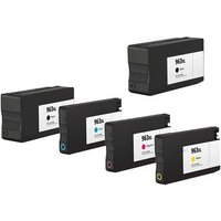 Compatible Multipack HP OfficeJet Pro 9019 Printer Ink Cartridges (5 Pack) -3JA30AE