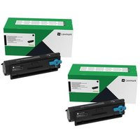 Original Multipack Lexmark MB3442adw Printer Toner Cartridges (2 Pack) -B342H00
