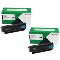 Original Multipack Lexmark B3340dw Printer Toner Cartridges (2 Pack) -B342H00
