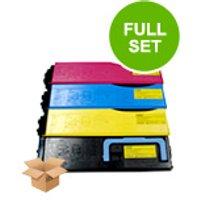 Compatible Multipack Kyocera FS-C5200dn Printer Toner Cartridges (4 Pack) -TK550K