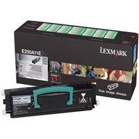 Lexmark 0E250A11E Original Black Return Program Laser Toner Cartridge