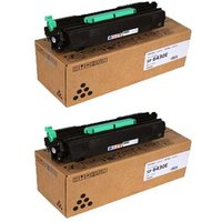 Original Multipack Ricoh Aficio SP 6430dn Printer Toner Cartridges (2 Pack) -407510