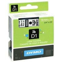 Dymo 45803 (S0720830) Original Label Tape (19mm x 7m) Black On White