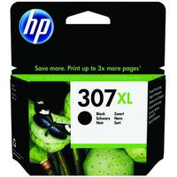 HP 307XL Black Original High Capacity Ink Cartridge (3YM64AE)
