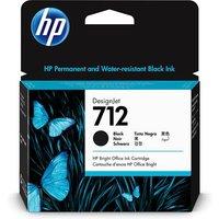 HP 712 (3ED71A) Black Original High Capacity DesignJet Ink Cartridge