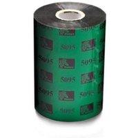 Zebra 05095BK13145 Original Resin Printer Ribbon 5095 (131mm x 450m)