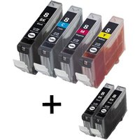 Compatible Multipack Canon Pixma MP600R Printer Ink Cartridges (6 Pack) -0620B001