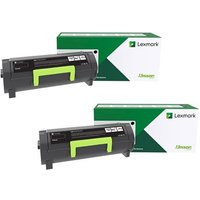 Original Multipack Lexmark B2865dw Printer Toner Cartridges (2 Pack) -B282000
