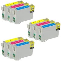 'Compatible Multipack Epson Stylus Office B1100 Printer Ink Cartridges (9 Pack) -c13t10034010