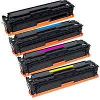 Compatible Multipack HP Colour LaserJet M477fdw Printer Toner Cartridges (4 Pack) -CF410X