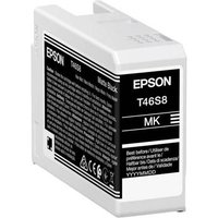 Epson T46S8 (T46S800) Matte Black Original UltraChrome Ink Cartridge (25ml)