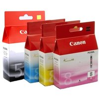 Original Multipack Canon Pixma MP530 Printer Ink Cartridges (4 Pack) -0628B001