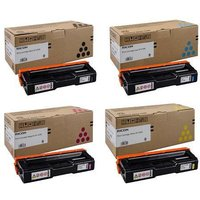 Original Multipack Ricoh SP C360 Snw Printer Toner Cartridges (4 Pack) -408190