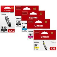 Original Multipack Canon Pixma TS8300 Printer Ink Cartridges (5 Pack) -1998C001
