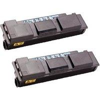 Compatible Twin Pack Kyocera TK-450 Black Toner Cartridges (2 Pack)