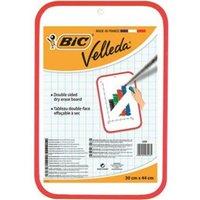 Bic Velleda Drywipe Board 300 x 440mm Red