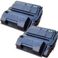 Compatible Multipack HP LaserJet 4300 Printer Toner Cartridges (2 Pack) -Q1339XX
