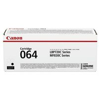 Canon 064BK (4937C001) Black Original Standard Capacity Toner Cartridge