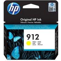 HP 912 Yellow Original Standard Capacity Ink Cartridge (3YL79AE)
