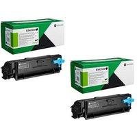 Original Multipack Lexmark MB3442i Printer Toner Cartridges (2 Pack) -B342X00