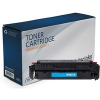 Compatible Cyan HP 415A Standard Capacity Toner Cartridge (Replaces HP W2031A)
