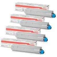 Original Multipack OKI C834dnw Printer Toner Cartridges (4 Pack) -46861308