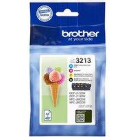 Brother LC3213 BK/C/M/Y Original High Capacity Ink Cartridge Multipack