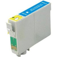 Compatible Cyan Epson T0422 Ink Cartridge (Replaces Epson T0422 Files)