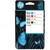 HP 932/933 Black and Colour Original Standard Capacity Ink Cartridge Multipack (6ZC71AE)