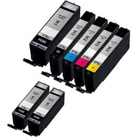 Compatible Multipack Canon Pixma TS5000 Printer Ink Cartridges (7 Pack) -0331C001