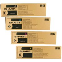 Original Multipack Sharp MX-3071 Printer Toner Cartridges (4 Pack) -MX61GTBA