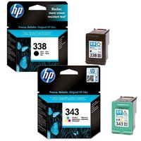 Original Multipack HP OfficeJet K7100 Printer Ink Cartridges (2 Pack) -C8765EE